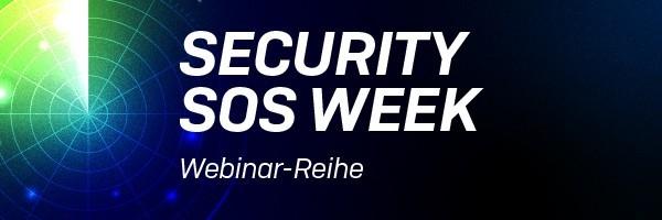 """sophos security sos week 2020 email banner de - Sophos Webinar-Reihe """"Security SOS Week"""""""